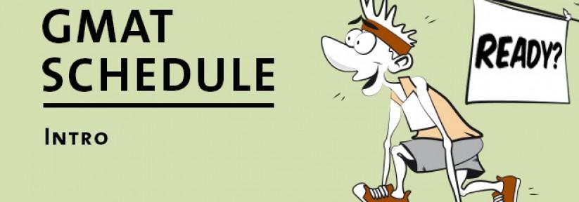 GMAT Study Schedule