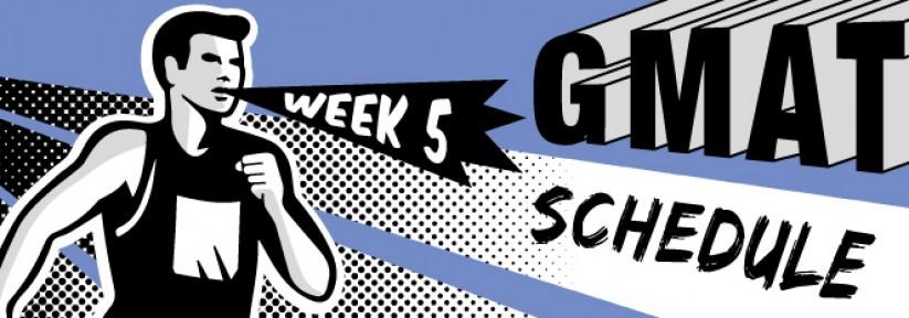 GMAT Study Guide: Week 5