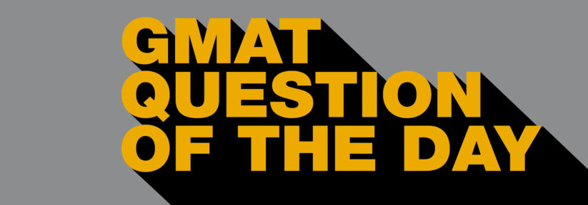 GMAT Question of the Day - DS - Ratio