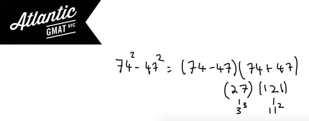 GMAT Exponents Quadratics