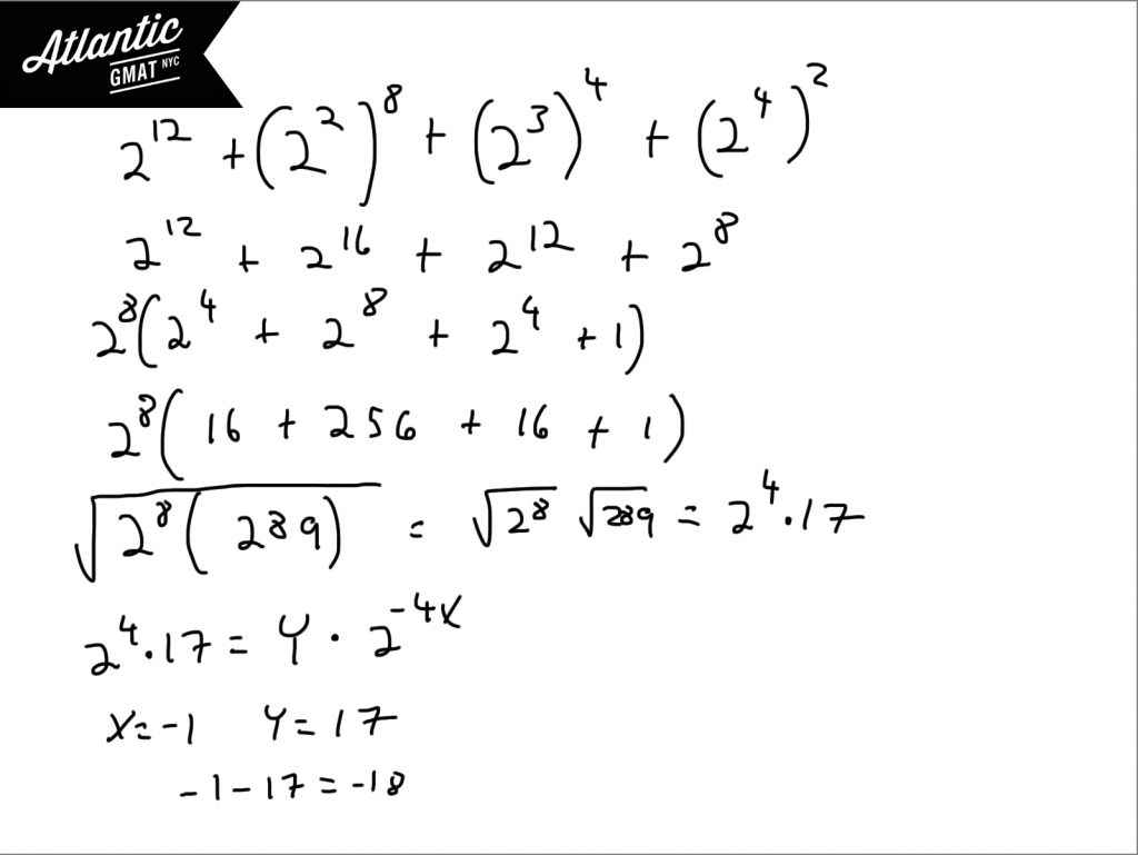 GMAT Question of the Day Exponents Solution Diagram 5
