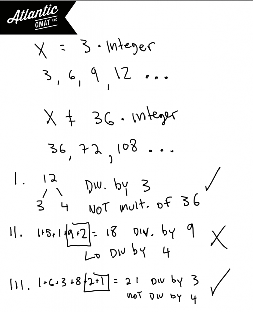 GMAT Question of the Day Problem Solving Number Properties Divisibility Solution Diagram