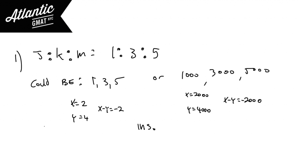 GMAT Question of the Day Data Sufficiency Number Properties Solution Statement 1 Diagram