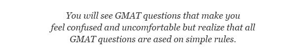 GMAT Sample Questions Challenging Quote