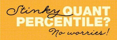 GMAT Percentiles & 80th% Quant Confusion