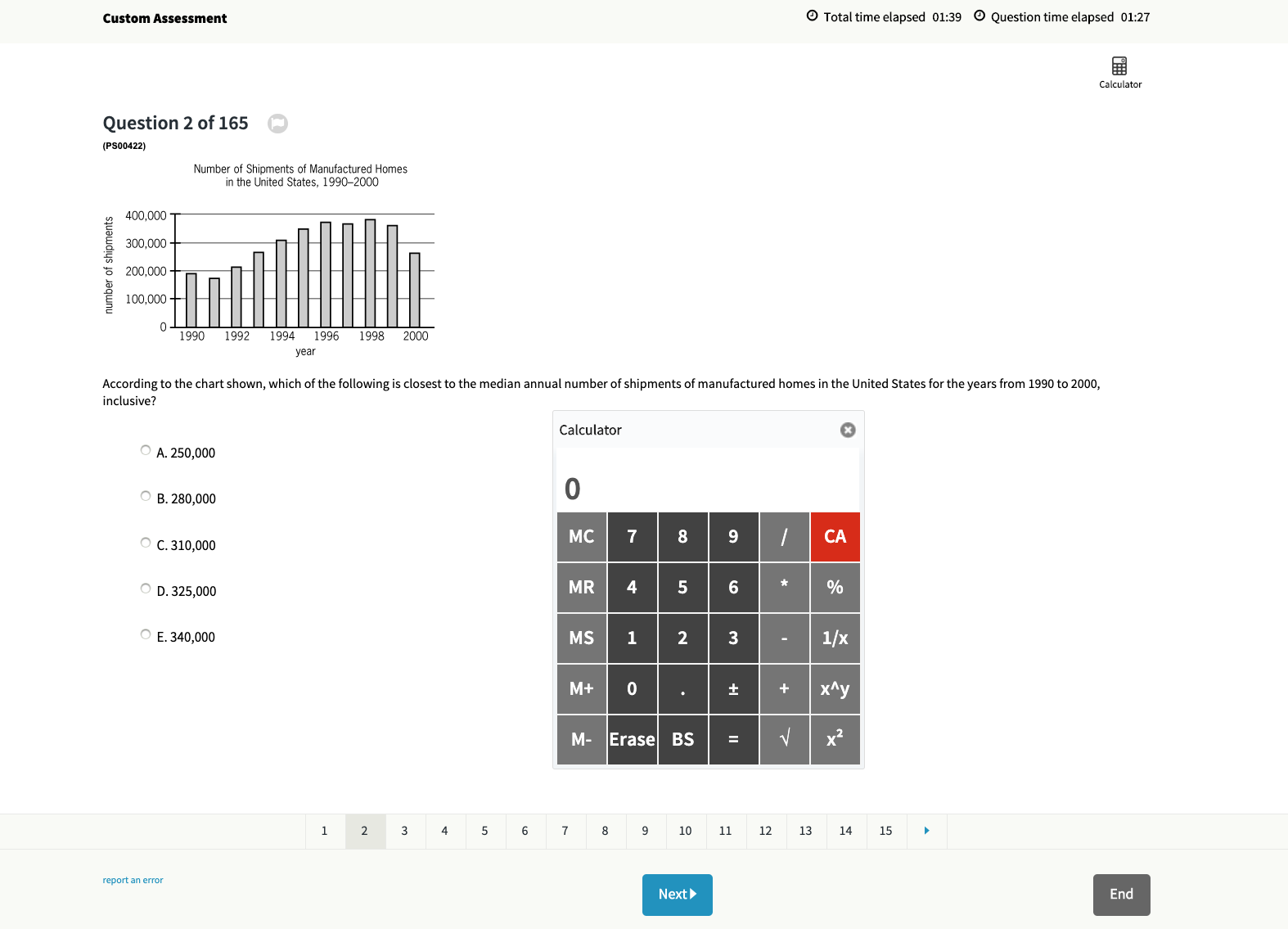 GMAT Official Guide 2020 Calculator