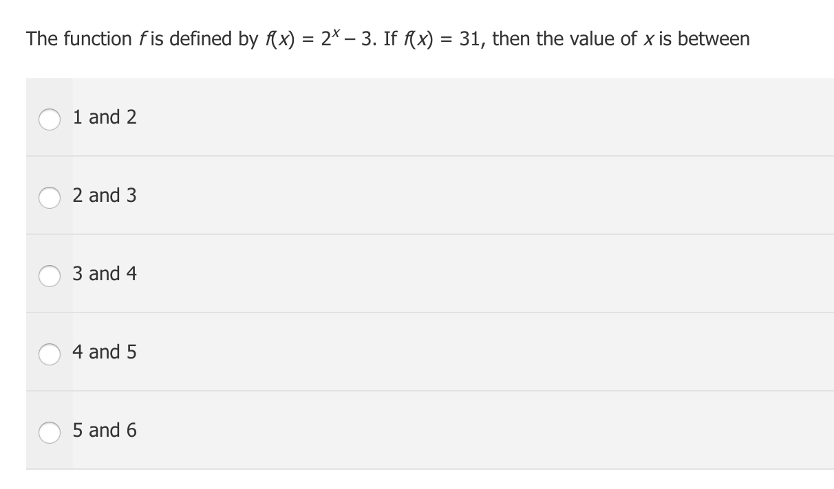 GMAT Functions Example f(x)