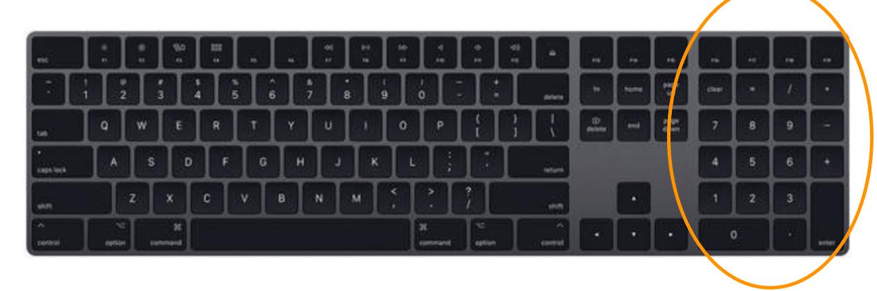GMAT Online Whiteboard Keyboard Example